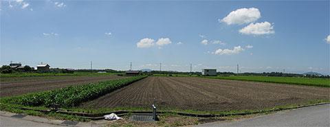 滋賀県彦根市の青空