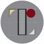 東京五輪のエンブレムとベルギーのリエージュ劇場のロゴ重ねてみました。
