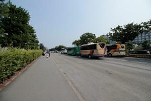 二条城前バス駐車場