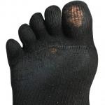 ミズノ ウェーブリバイブでずっとジョギングをしていたら靴下がこうなった