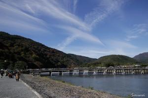 京都嵐山-渡月橋