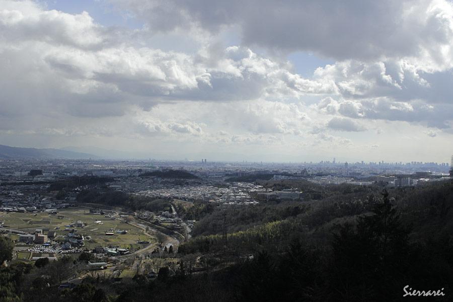 三好山からの空
