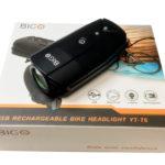 BIGO自転車用LEDライトYT-T6(USB充電タイプ)なかなかいい感じで使えます。