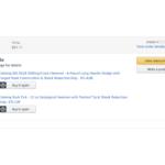 Amazon.comからの商品が届かない:Undeliverable